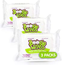 Boogie Wipes, Unscented Wet Wipes for Baby and Kids, Nose, Face, Hand and Body, Soft and Sensitive Tissue Made with Natura...