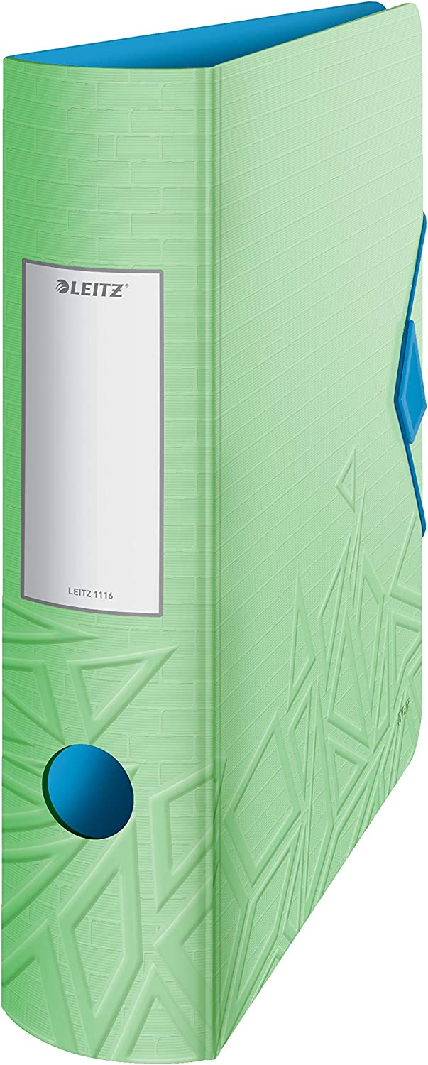 Leitz Los Angeles Mall 180° Active Daily bargain sale Urban Chic A4 Arch Green File Lever Curve