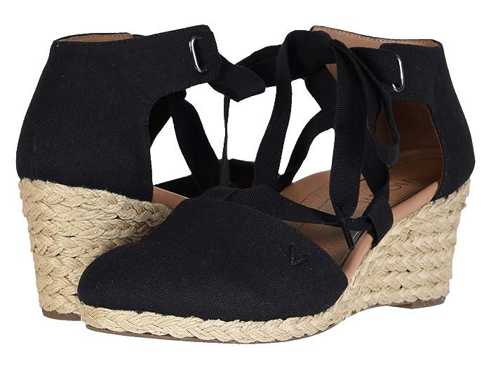 VIONIC  Kaitlyn (Black) Womens Wedge Shoes