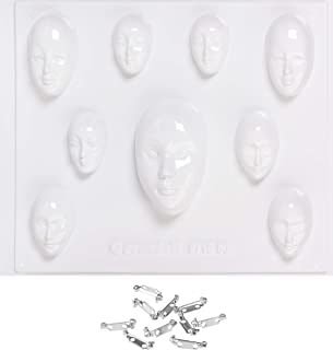 Knorr Prandell Moule pour Masques décoratifs Miniatures Transparent