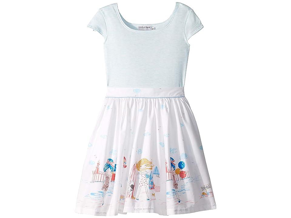 fiveloaves twofish Seaside Girls Maddy Dress (Toddler/Little Kids/Big Kids) (Blue) Girl