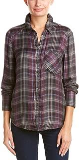 Womens Joplin Plaid Button Up Shirt