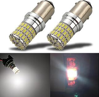 TuningPros LEDDL-42M-W6 Dome Light LED Light Bulbs Festoom 42mm 6 LED White 2-pc Set