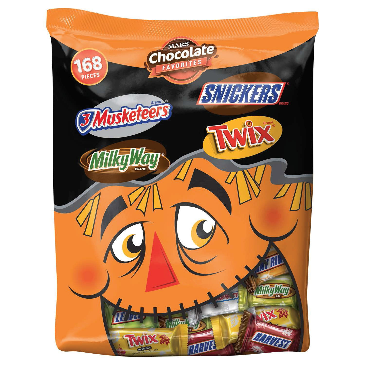 MARS Chocolate Bargain sale Fall Harvest Minis Size Cheap bargain 45 Bars Mix Candy Variety