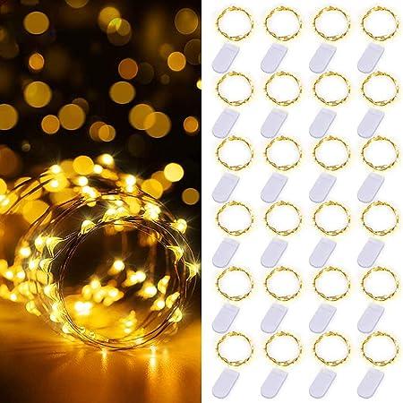 Lattice Hearts 20LED 2M Indoor Fairy String Light Battery Powered Warm White US