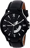 REDUX Analogue Black Dial Men's Watch (Rws0106)