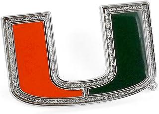NCAA Miami Hurricanes Team Logo Pin