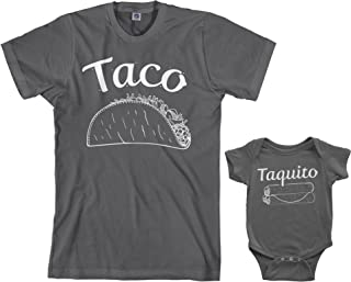 Taco & Taquito Infant Bodysuit & Men's T-Shirt Matching Set