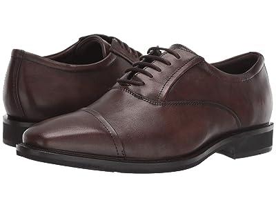 ECCO Calcan Cap Toe Tie (Cocoa Brown) Men
