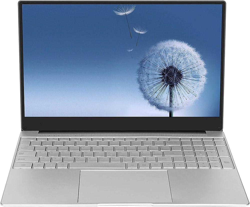 Huashetrade, laptop, pc portatile, intel celeron 64 bit, 8 gb di ram ddr4, ssd da 256 gb, batteria da 10000 ma ?NBG15