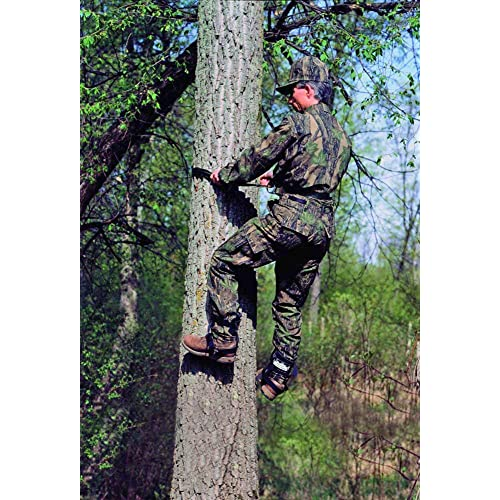 SportClimbers Tree Climbing Spikes – Includes Strap-On Boot Spikes and Safety Belt