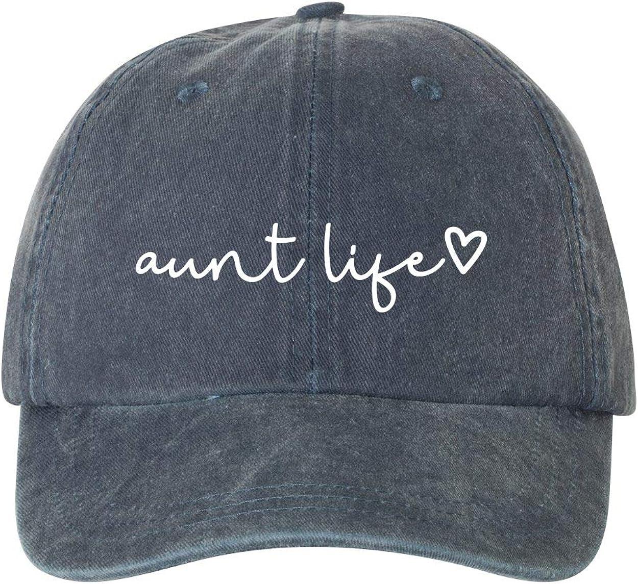 Ameritrends Aunt Life Script Heart Dad Hat Baseball Cap Adjustable New