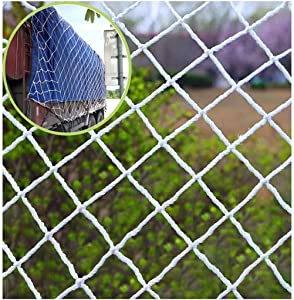 Grid net  Children s pet safety fall protection net  Garden plant climbing net  For stair balcony safety risk  Scenic railing protection  Cargo isolation  Size 10M