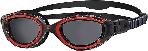 Zoggs Predator Flex gepolariseerde bril L rood/zwart/smoke gepolariseerde 2020 zwembril