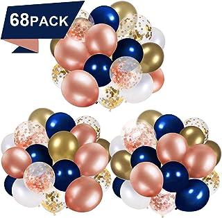 Lfvik Rose Gold Confetti Balloon