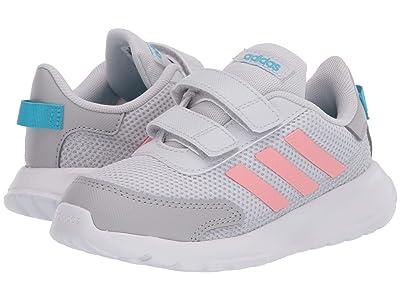 adidas Kids Tensaur Run (Infant/Toddler) (Dash Grey/Glory Pink/Bright Cyan) Girl