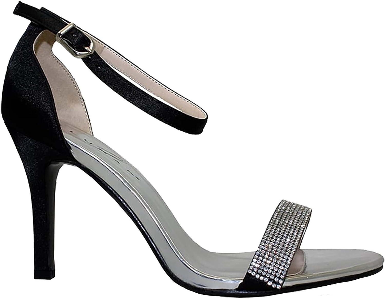 Fantasia Boutique /® JLY041 Hudson Ladies Faux Suede Diamante Front Casual Espadrilles Flat Shoes