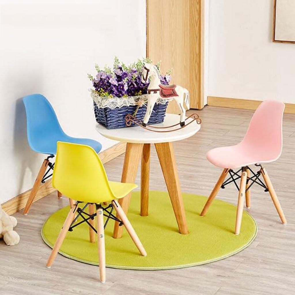 HXF- Chaise for Enfants Accueil Ménage Créativité Couleur Jardin d'enfants Éducation préscolaire Dossier Tabouret Chaise for étudiants Durable (Color : A) C