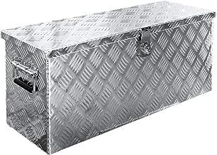 Truck Box Caisse de Transport Remorque Boîte à Outils Chequer Plaque Alu V2Aox