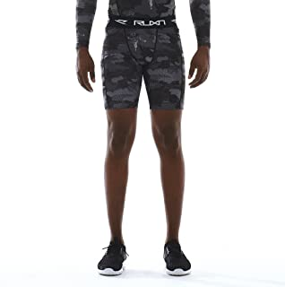 RUXN Mens Compression Shorts - Workout Short Pants for Men - Active Sports Quick Dry Underwear Base Layer