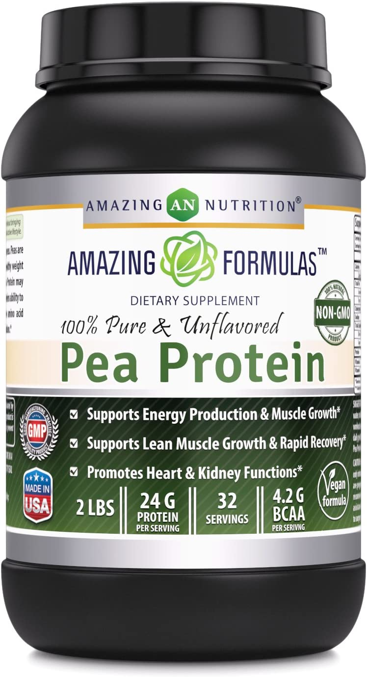 Amazing Nutrition Ranking TOP11 Formulas 100% Pure Ranking TOP19 Pea Pr Unflavored