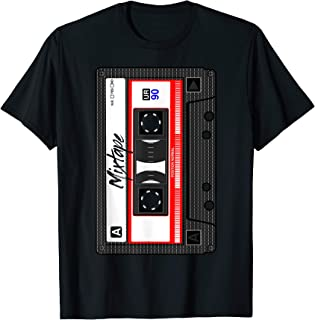 Cassette Tape Music Mix Audio 90s Party 80s Outfit Cassette T-Shirt
