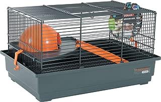 Zolux Gardening Mouse/Hamster Cage 40x 25.5x 21.5cm–Orange