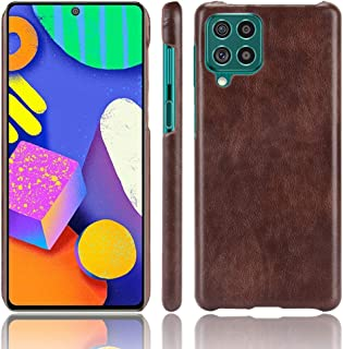 FTRONGRT cellphone case for Samsung Galaxy F62 case, PC+ leather wrapped protective shell, Anti-drop, Suitable for Samsung...