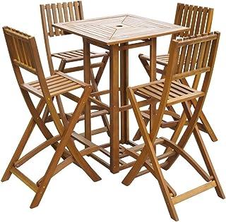 Amazon.es: mesa madera plegable bar