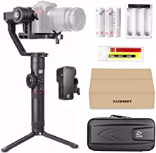Zhiyun Crane 2 (with Servo Follow Focus) 3-Axis Handheld Gimbal Stabilizer 7lb Payload Toolless Balance Adjustment for DSLR or mirrorless camera, Zhiyun Crane-2 Compatible with Nikon Z6 Z7