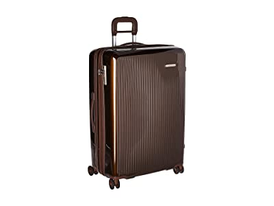 Briggs & Riley Sympatico Large Expandable Spinner (Bronze) Luggage