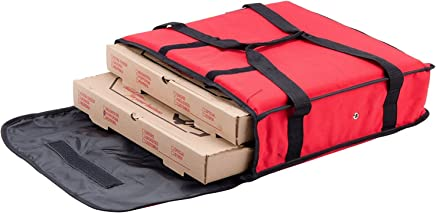 """Nylon Insulated Pizza Delivery Bag Size 18"""" x 18"""" x 5"""""""