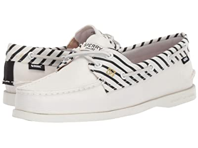 Sperry Authentic Original 2-Eye Bionic (Off-White) Women
