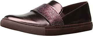 Kenneth Cole REACTION Women's Kam Slip Mini Jewel Strap Accent Synthetic Fashion Sneaker