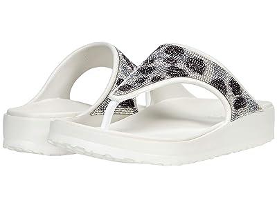 SKECHERS Cali Gear Cali Breeze 2.0 Leopard Rhinestone Hooded Sandals