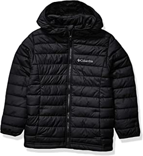 Columbia Boy's Powder Lite Boys Hooded Jacket