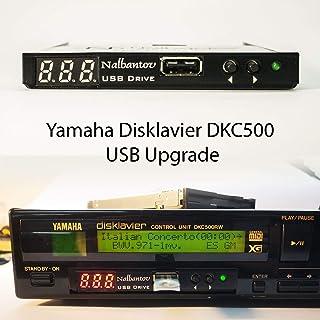 Yamaha DKC500, DKC100XG, DKC500R/RW, DKC500RWXG 用のNalbantov USB フロッピーディスクエミュレーター N-Drive Slim used in Mark II XG (also Pro...