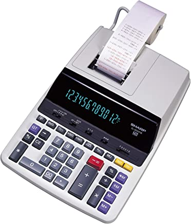 "$93 » Sharp EL-2630PIII Two-Color Printing Calculator 4.8 Lines/Sec 4"" Black/Red"