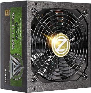 Zalman 700W ATX Fully Modular Power Supply - Watttera - (Active PFC/80 PLUS Gold)