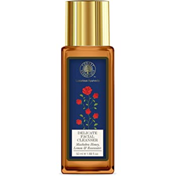 Forest Essentials Travel Size Facial Cleanser Rosewater, Honey Lemon, 50ml