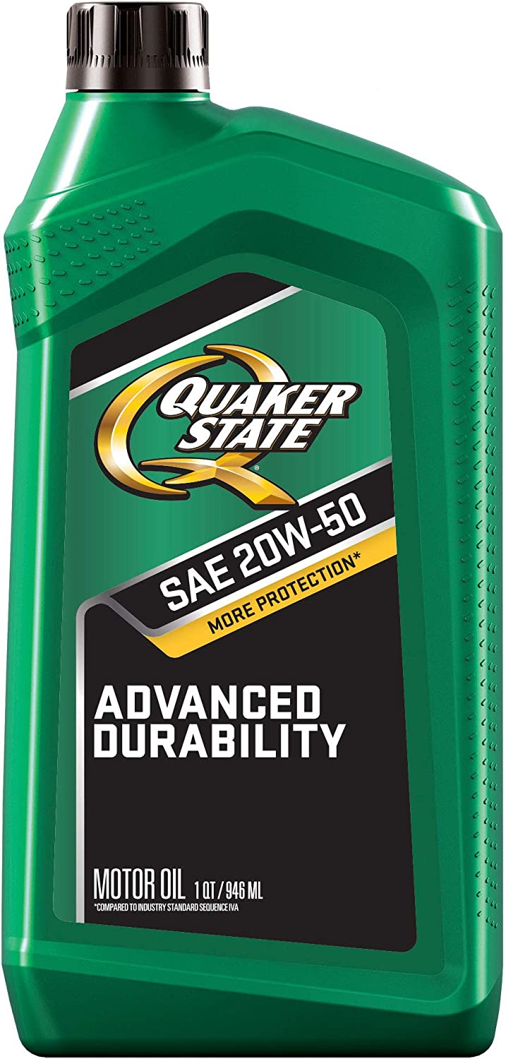 Quaker Max 56% OFF State Motor Oil Conventional 20W-50 6 of Case 1-Quart 2021 autumn and winter new