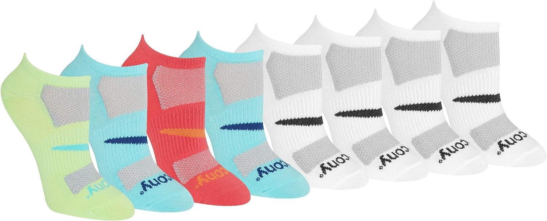 Saucony Womens Performance Super Lite No-show Running Socks