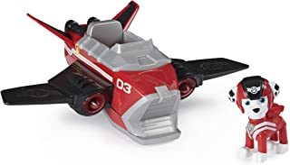 Paw Patrol 6059441 Jet to the Rescue Marshall's Deluxe Transforming Vehicle with Lights and Sounds, Amazon Exclusive