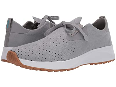 Native Shoes Apollo 2.0 (Pigeon Grey/Shell White/Natural Rubber) Shoes