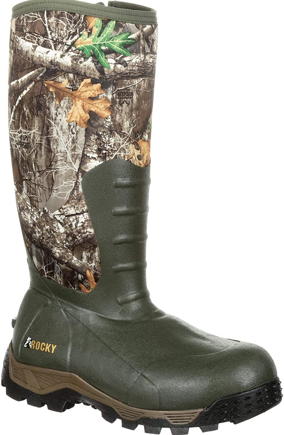 Rocky Mens Sport Pro Rubber 1200G Insulated Waterproof Outdoor Outdoor Boots
