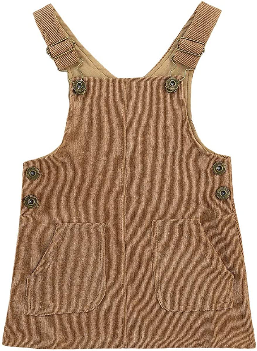 Superlatite Maemukilabe Toddler Baby Girl Fall Tampa Mall Dress Winter Overalls Clothes