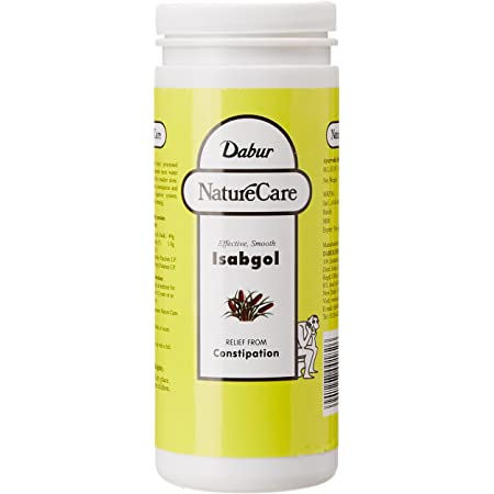 Dabur Nature Care Isabgol  Provides Effective Relief from Constipation -375gm