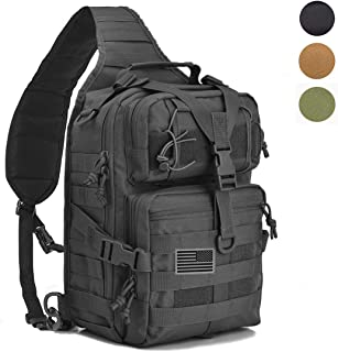 Tactical Sling Bag Pack Military Shoulder Backpack Everyday Carry Bag,20L