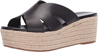 NINE WEST Women's Eddy Espadrille Wedge Sandal