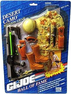 Desert Camo GI Joe Hall of Fame 1993 Mission Gear